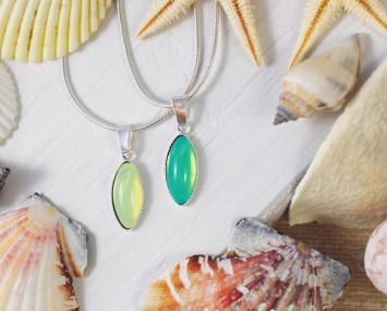 Bohemian Glass Necklaces