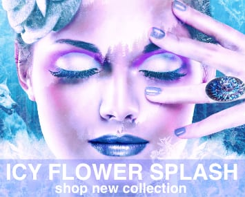 Icy Flower Splash Collection